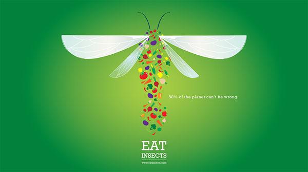 Aaron Smith magda bębenek ochrona środowiska zrównoważona konsumpcja ekologia zaangażowana sztuka człowiek znatury jadalne owady ważka