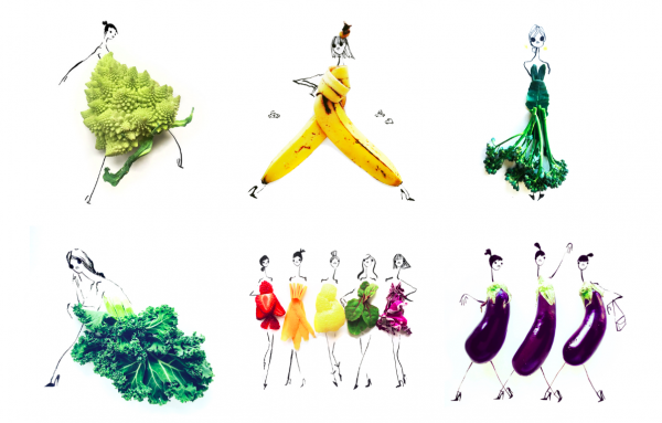 Gretchen Röehrs magda bębenek ochrona środowiska zrównoważona konsumpcja ekologia zaangażowana sztuka warzywa inspiracja wege