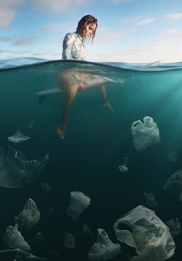 Weston Fuller magda bębenek ochrona środowiska zrównoważona konsumpcja ekologia zaangażowana sztuka plastik woceanie zanieczyszczenie
