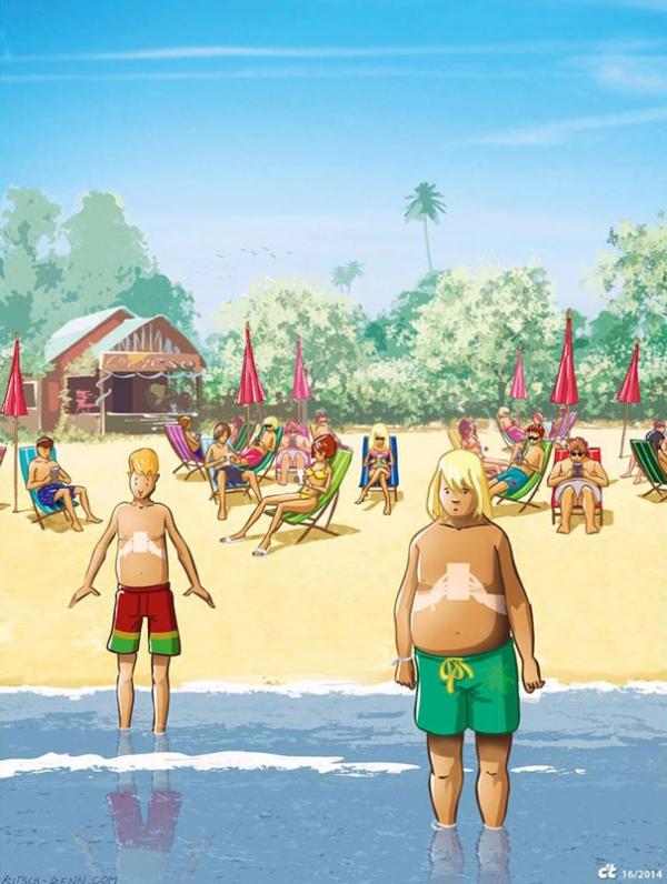 ritsch renn magda bębenek ochrona środowiska zrównoważona konsumpcja ekologia zaangażowana sztuka smartphone uzależnienie odinternetu społeczeństwo XXI wiek facebook plaża wakacje
