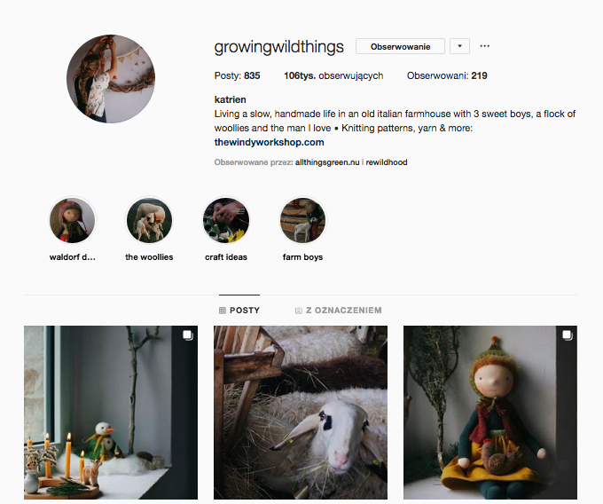 inspirujące profile nainstagramie las wnas magda bębenek growingwildthings