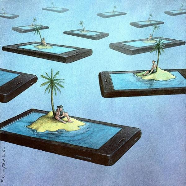 Pawel Kuczynski magda bębenek ochrona środowiska zrównoważona konsumpcja ekologia zaangażowana sztuka smartphone uzależnienie odinternetu społeczeństwo XXI wiek facebook