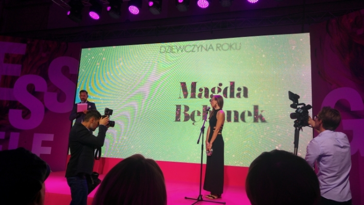 glamour.pl magda bębenek marcin prokop gala kobieta roku glamour dziewczyna roku glamour 2018