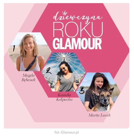 magda bębenek glamour.pl dziewczyna roku glamour 2018 glamour