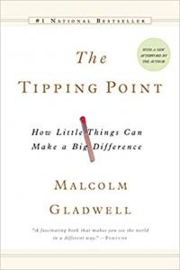 """Biblioteczka Siedmiu Pokoleń Malcolm Gladwell: """"THE TIPPING POINT"""""""